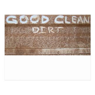 Good Clean Dirt 'Tailgate Talk' Postcard