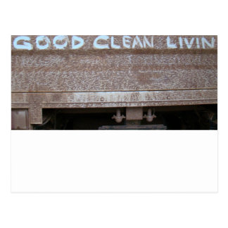 Good Clean Livin' 'Tailgate Talk' Postcard