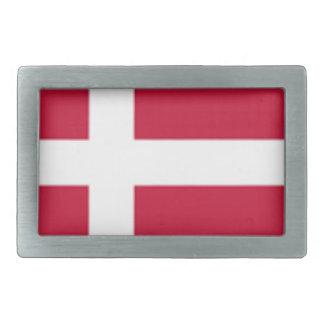 Good color Denmark flag Print Belt Buckle