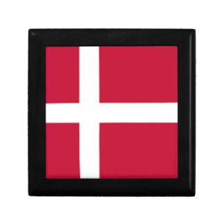 Good color Denmark flag Print Gift Box