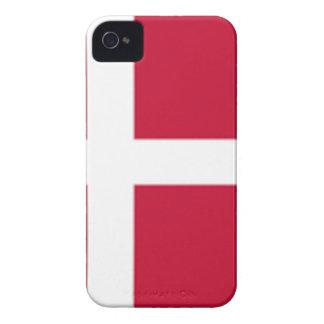 Good color Denmark flag Print iPhone 4 Cover