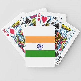 "Good color Indian flag ""Tiranga"" Bicycle Playing Cards"