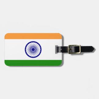 """Good color Indian flag """"Tiranga"""" Luggage Tag"""