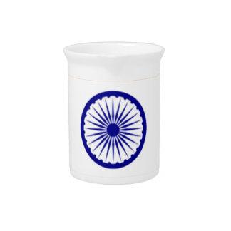 """Good color Indian flag """"Tiranga"""" Pitcher"""