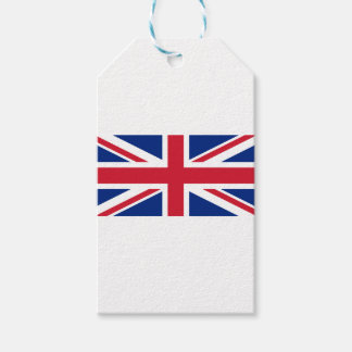 "Good color UK United Kingdom flag ""Union Jack"" Gift Tags"