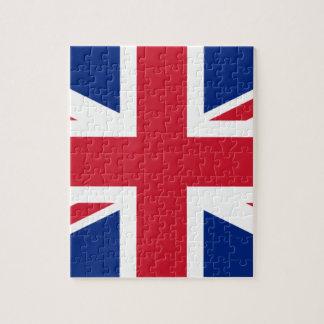 """Good color UK United Kingdom flag """"Union Jack"""" Jigsaw Puzzle"""