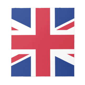 "Good color UK United Kingdom flag ""Union Jack"" Notepad"