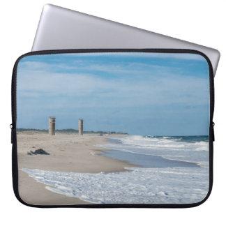 Good day at Rehoboth Beach Laptop Sleeve