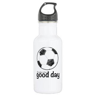 Good day for soccer 532 ml water bottle