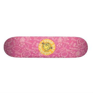 Good Day Sunshine Patch Skate Board