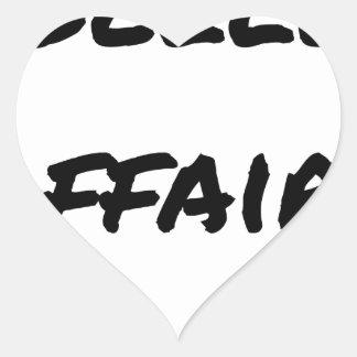 Good deal - Word games - François City Heart Sticker