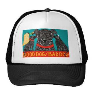 Good Dog Bad Dog Cap - Stephen Huneck Hat