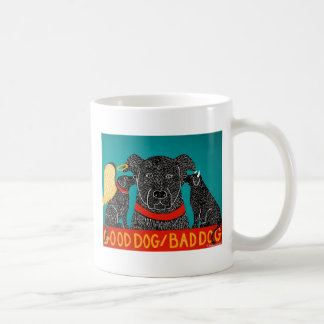 Good Dog Bad Dog Mug-Stephen Huneck