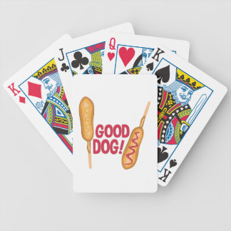 Good Dog Bicycle Playing Cards