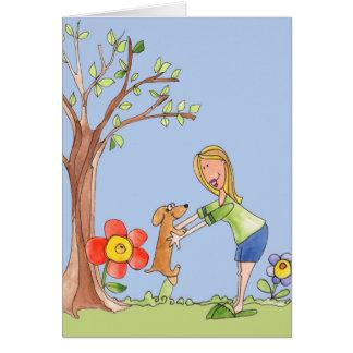 Good Dog - Blank Card
