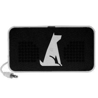 Good Dog Pictogram Doodle Speaker