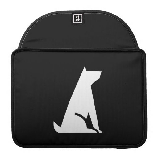 Good Dog Pictogram MacBook Pro Sleeve