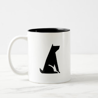 'Good Dog' Pictogram Mug