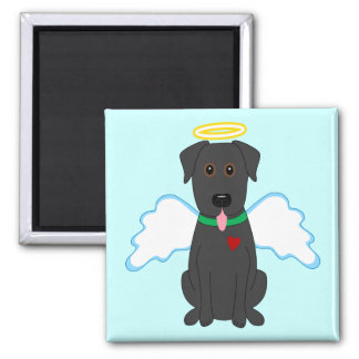 Good Dog Square Magnet