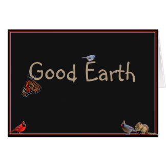 Good Earth: Greetings from Nature Card