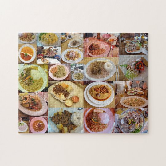 Good Eating in Peru Jigsaw Puzzle