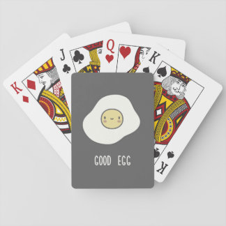 Good Egg Playing Cards