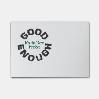 """Good Enough – It's the New Perfect"" Notes"