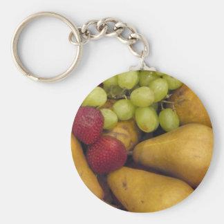 Good Enough To Eat Basic Round Button Key Ring