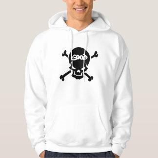 Good & Evil Skull Hoodie