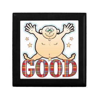 Good Fat Man Small Square Gift Box