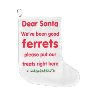 good ferrets large christmas stocking