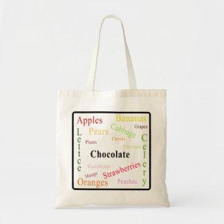 Good Food Budget Tote Bag