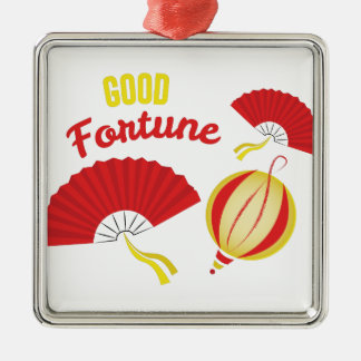 Good Fortune Metal Ornament