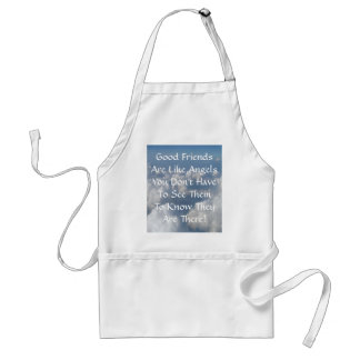 Good Friends Are Like Angels Standard Apron