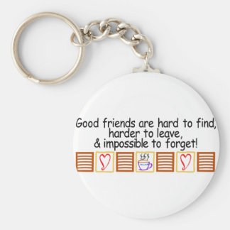 Good Friends Key Ring