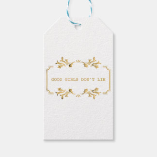 GOOD GIRLS DONT ROLLS GIFT TAGS