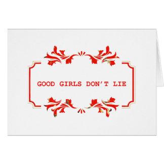 GOOD GIRLS DONT ROLLS network Card