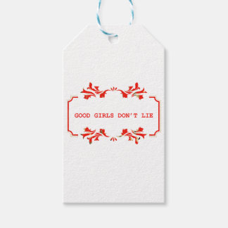 GOOD GIRLS DONT ROLLS network Gift Tags