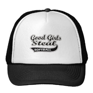 Good Girls Steal (black) Trucker Hats