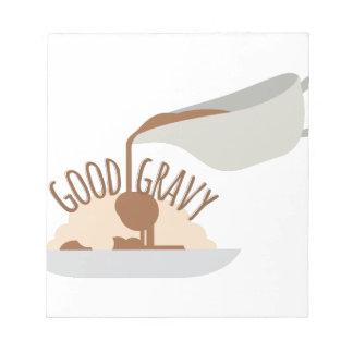 Good Gravy Notepad