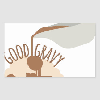 Good Gravy Rectangular Sticker