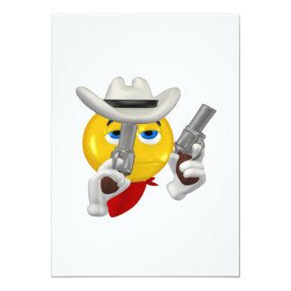 Good Guy Cowboy 3 13 Cm X 18 Cm Invitation Card