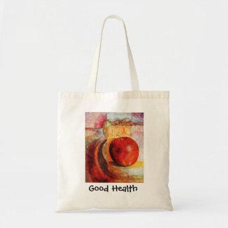 Good Health Budget Tote Bag