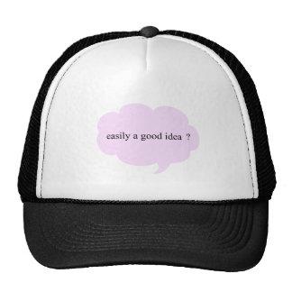 good idea trucker hat