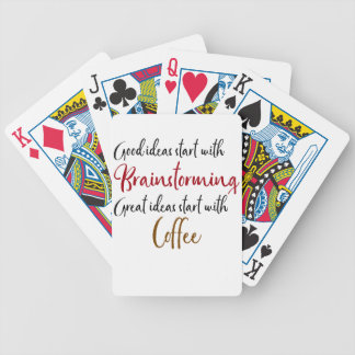 Good ideas bicycle playing cards