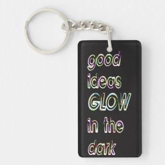 good ideas GLOW in the dark Key Ring