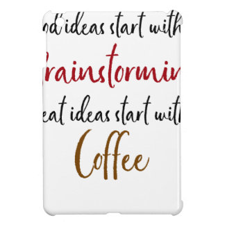 Good ideas iPad mini case