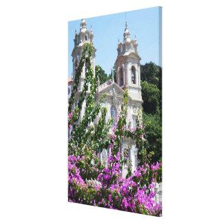 Good Jesus Of The Mount Church Canvas Print