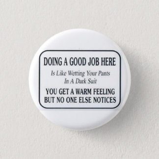 Good Job 3 Cm Round Badge