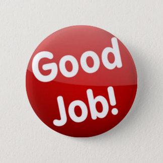 Good Job! button